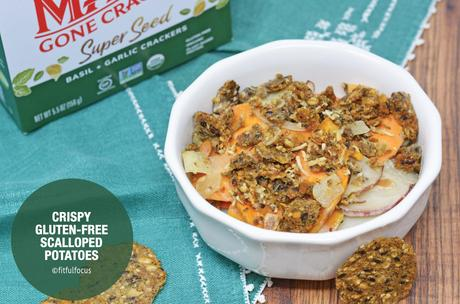 Crispy Gluten-Free Scalloped Potatoes