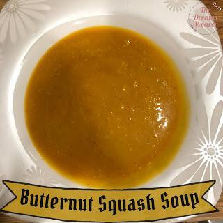 Butternut Squash Soup ~ The Dreams Weaver
