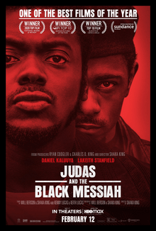 JUDAS AND THE BLACK MESSIAH COMING TO HBO MAX FEB. 12TH
