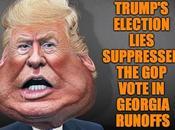 Trump's Election Lies Cost Georgia Senate Seats
