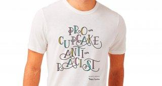 Pro- Cupcakes Anti- Racist Tote Bag From Trophy Cupcakes