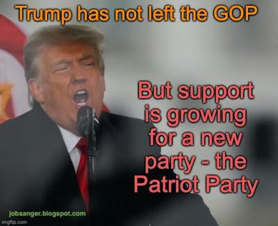 GOP Bows To Trump - But Patriot Party Sentiment Growing