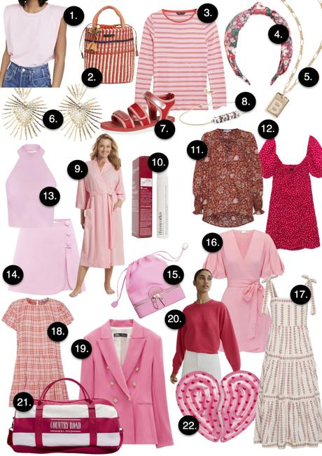 Pink & Red || Shopping guide