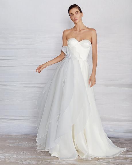 pollardi fashion group bridal dresses a line sweetheart strapless neckline liretta windstorm