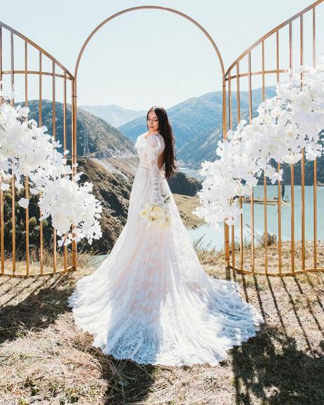 pollardi fashion group bridal dresses real bride in gown