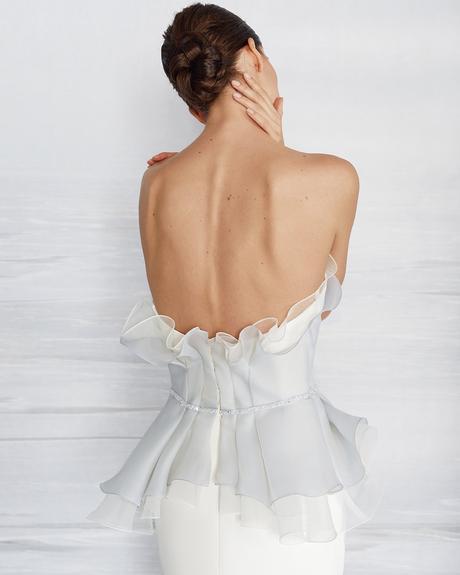 pollardi fashion group bridal dresses sexy backless liretta cyanea