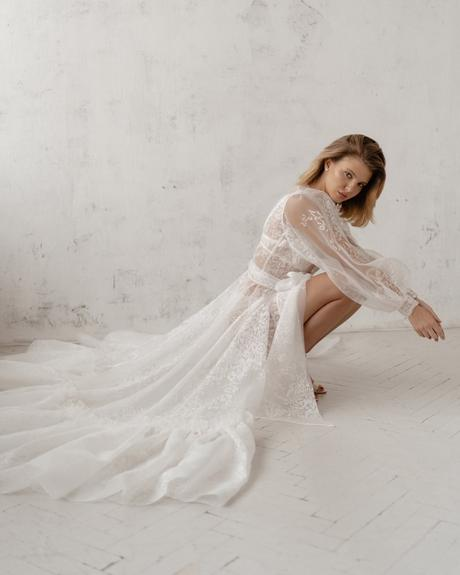 pollardi fashion group bridal dresses boudoir with sleeves