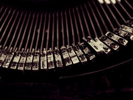 typewriter, write, vintage