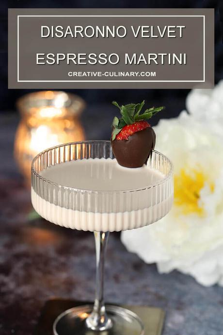 Disaronno Velvet Espresso Martini Cocktail