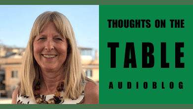 [Thoughts on the Table – 91] Introducing Podcaster Wendy Holloway from Flavor of Italy