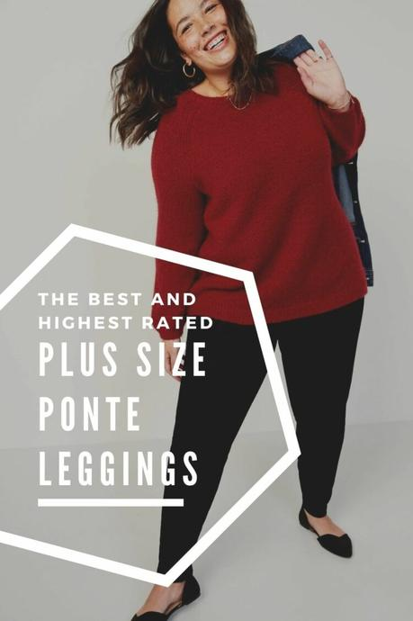 The Best Plus Size Ponte Leggings: 7 Winning Brands