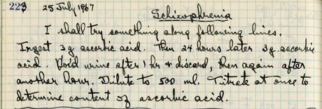 Pauling's Study of Schizophrenia: A Program of Work