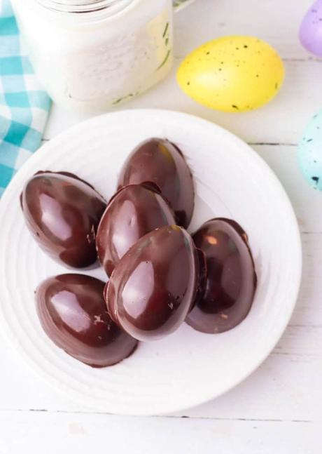 Healthy Homemade 4 Ingredient Peanut Butter Eggs