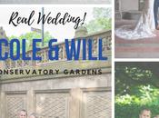 Nicole Will's Wedding Under Wisteria Pergola Conservatory Gardens