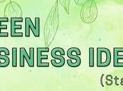 (Doable) Green Business Ideas Start With (Infographic)