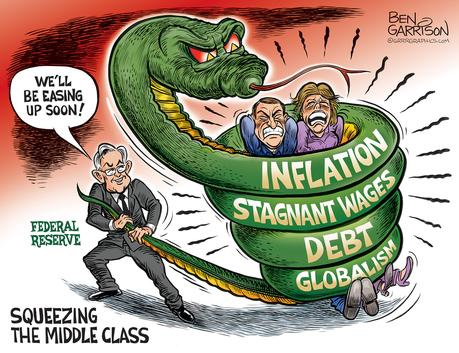 The FED Squeeze – Grrr Graphics