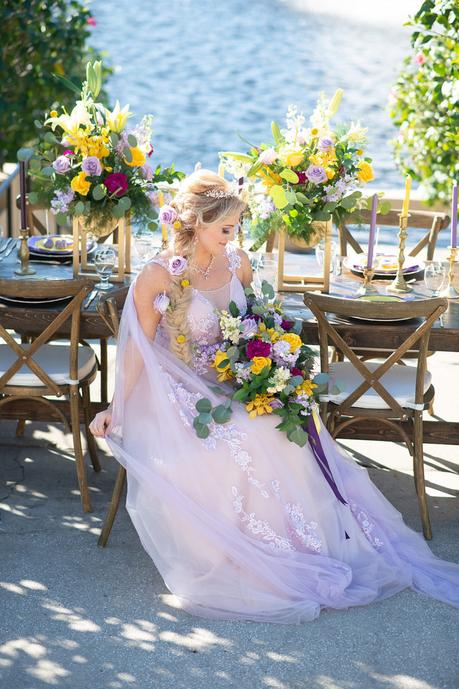 3 Disney Princesses Inspired Styled Shoot
