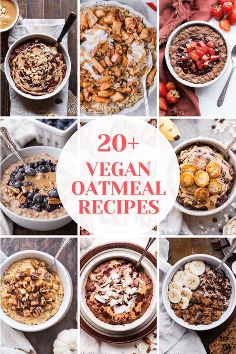 20+ Vegan Oatmeal Recipes