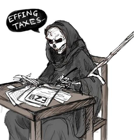 Death and the Taxman: 8 Killer Tax Day Designs