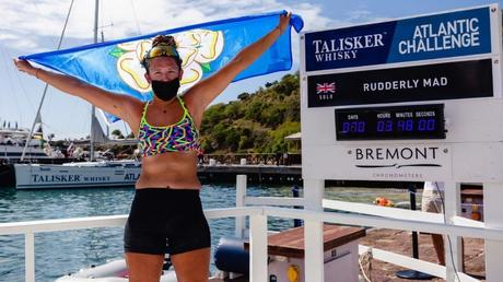 21-Year Old Briton Becomes Youngest Woman to Row the Atlantic