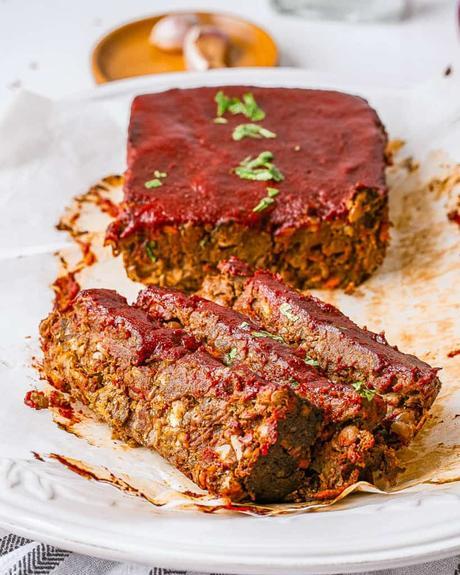 The Ultimate Vegan Lentil Loaf