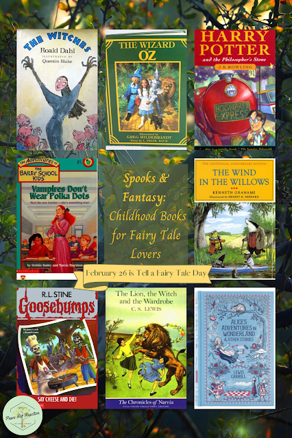 February 26 is Tell a Fairy Tale Day: Best spooky & fantasy books for children