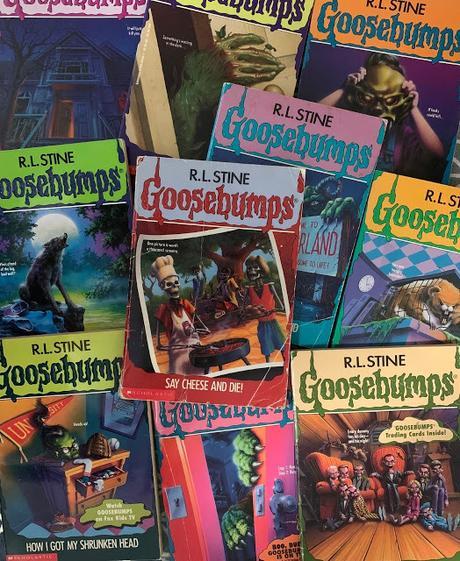 Goosebumps R.L. Stine books
