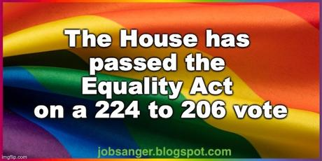 House Passes The LGBTQ Equality Act