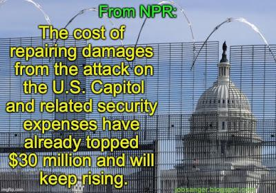 Capitol Riot Has Cost Taxpayers $30 Million (& Still Rising)