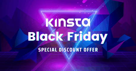 kinsta black friday flash sale