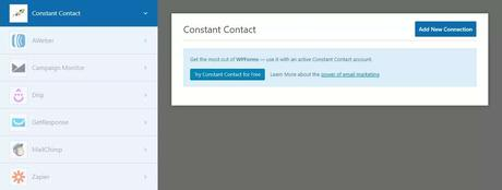 Connect WPForms with Constant Contact account