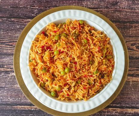 Tomato Rice Recipe | How To Make Tomato Rice | Thakkali Sadam
