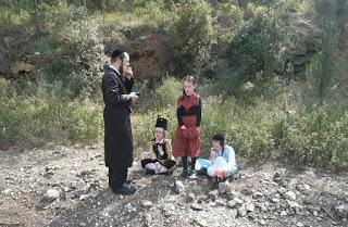 Aliya LaRegel on Purim