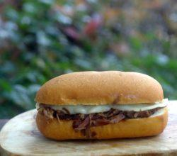 Slow Cooker Sunday French Dip Sandwiches