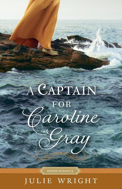 A CAPTAIN FOR CAROLINE GRAY BLOG TOUR - READ AN EXCERPT