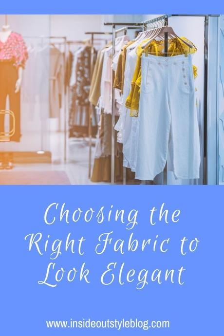 Choosing the Right Fabric to Look Elegant and Stay Cool