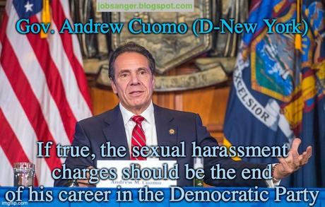 If True, Sexual Harassment Should End Cuomo's Career