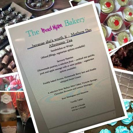 the bad mom bakery afternoon tea