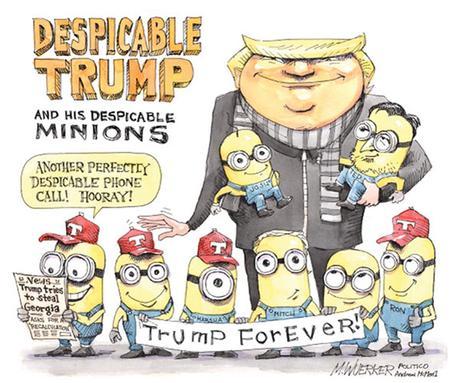 Trump's Screechy Swan Song: Lining Up Ugly Ducklings for Biden   Random  Lengths News