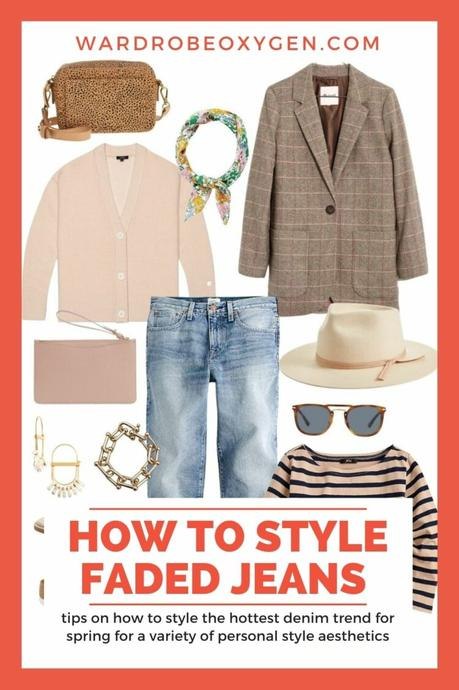 How to Style Faded Jeans for Spring