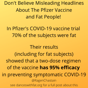 Is Pfizer's Vaccine Really Less Effective For Fat People?