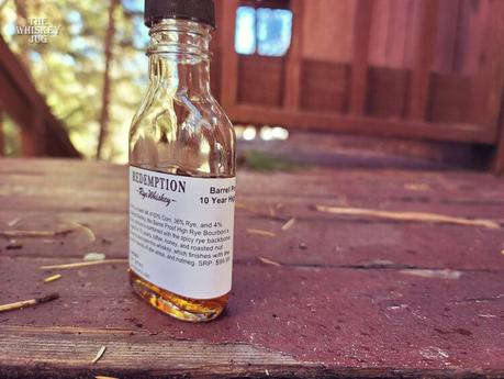 Redemption 10 Year Barrel Proof High Rye Review