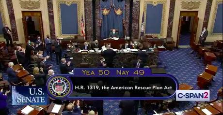 Senate Passes The $1.9 Trillion Relief Bill