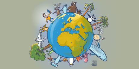 Cartoon guide to biodiversity loss LXV