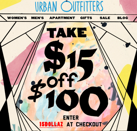 Urban outfitters coupon code 2018 june