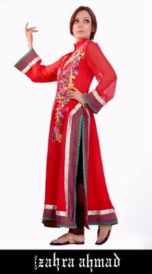 Zahra Ahmad Casual & Semi-Formal Summer Wear Collection 2012
