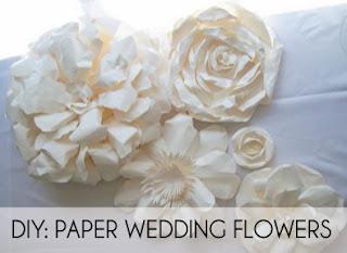 Diy paper wedding flowers paperblog diy paper wedding flowers mightylinksfo