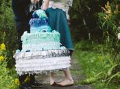 Make Ombre Wedding Cake Pinata