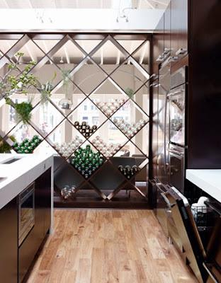 Lattice Wall Divider And Storage House Beautiful