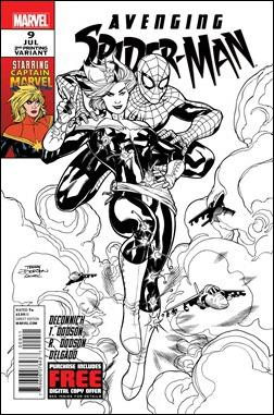 Avenging Spider-Man #9 Second Print
